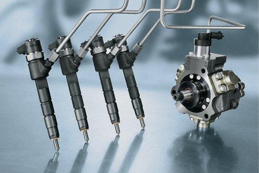 Inniettori e pompa diesel